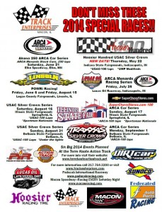 2014 Track Enterprises Special Events