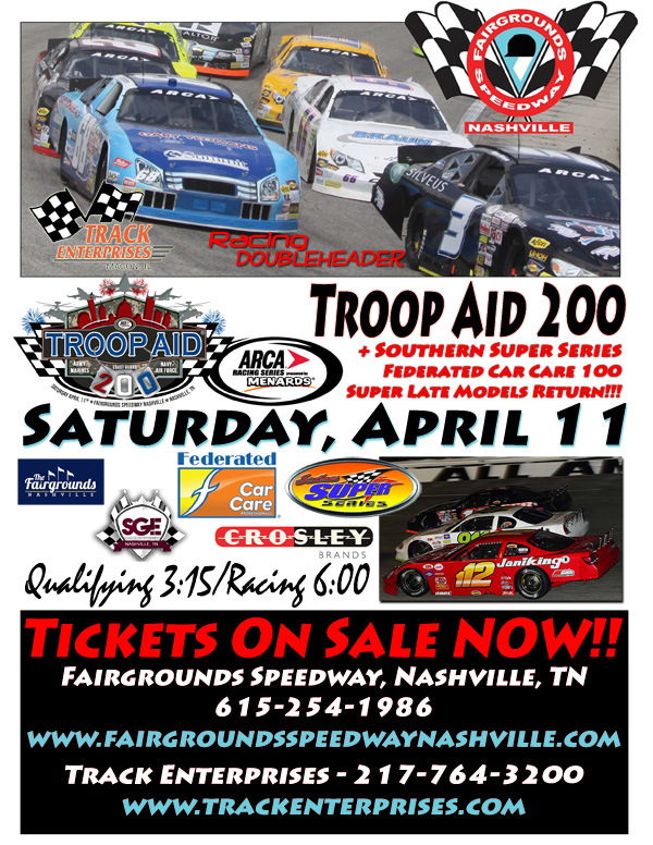 Additional Support Announced For Troop Aid 200 At Fairgrounds