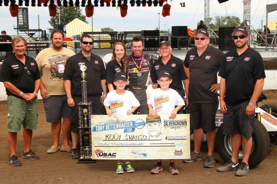 Swanson 2015 Springfield Win
