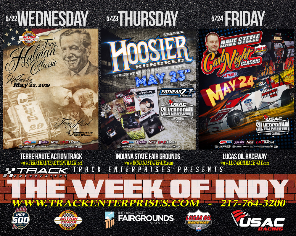 May 22-24 Week Of Indy