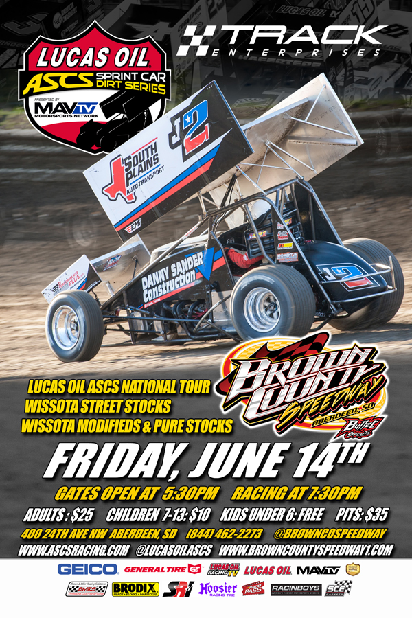 June 14 Brown County Speedway