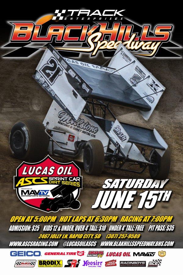 June 15 Black Hills Speedway