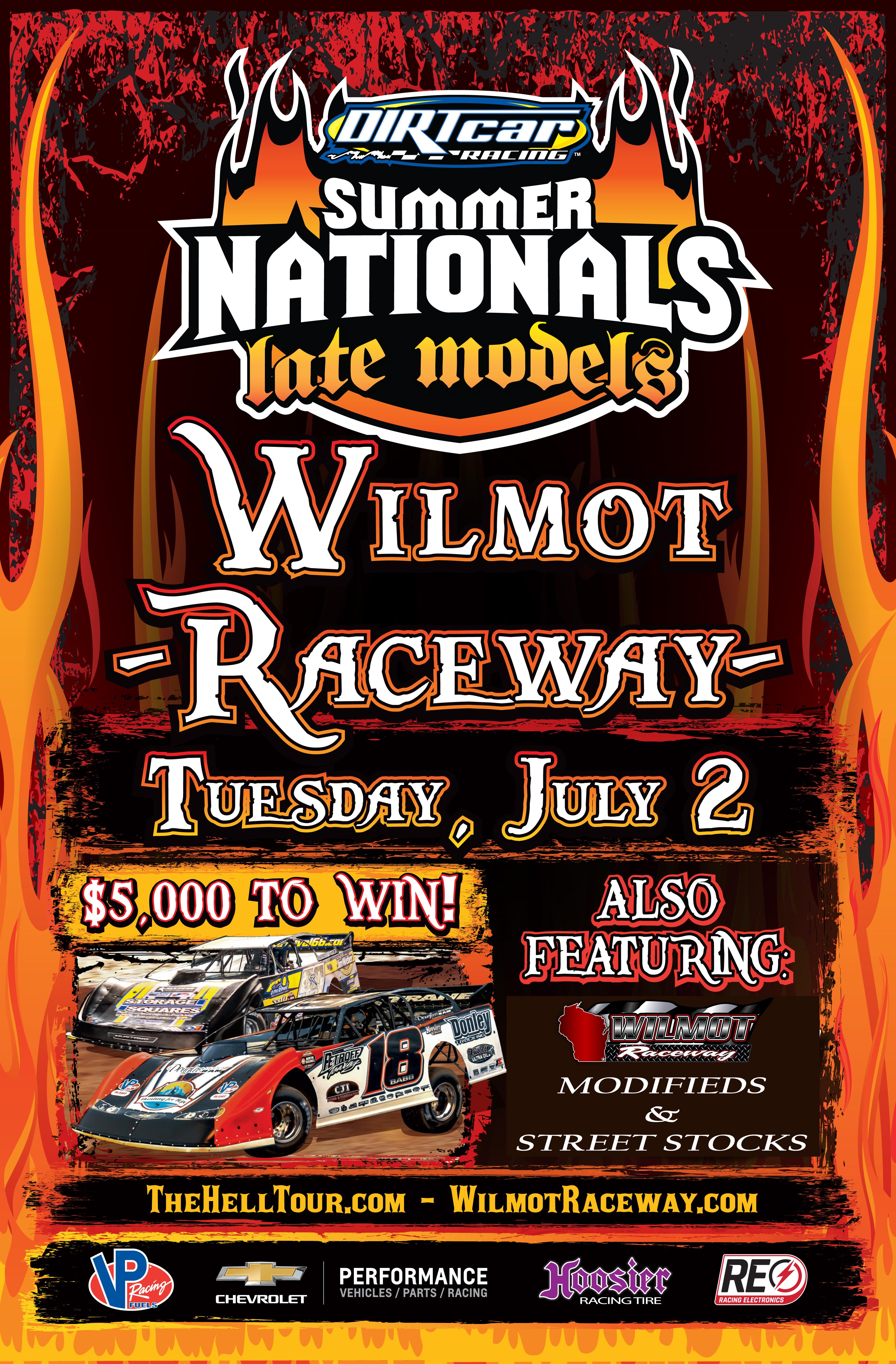 July 2 Wilmot Raceway