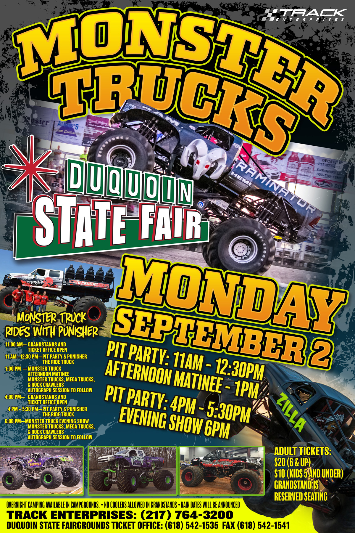 Du Quoin Monster Trucks September 2