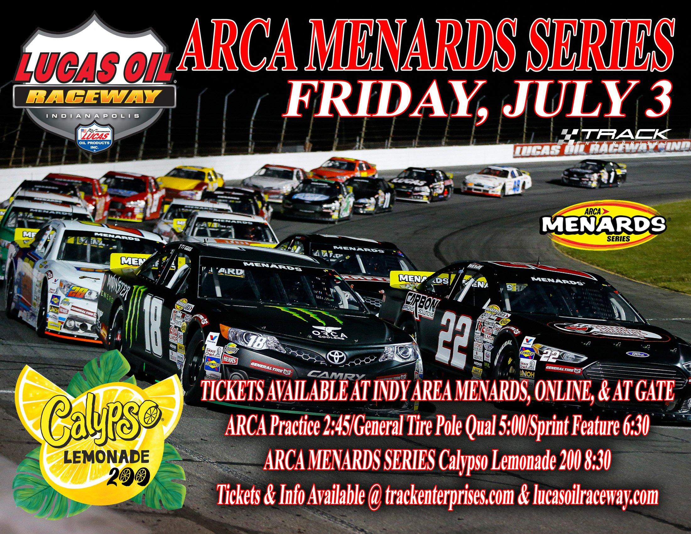 July 3 Lucas Oil Raceway
